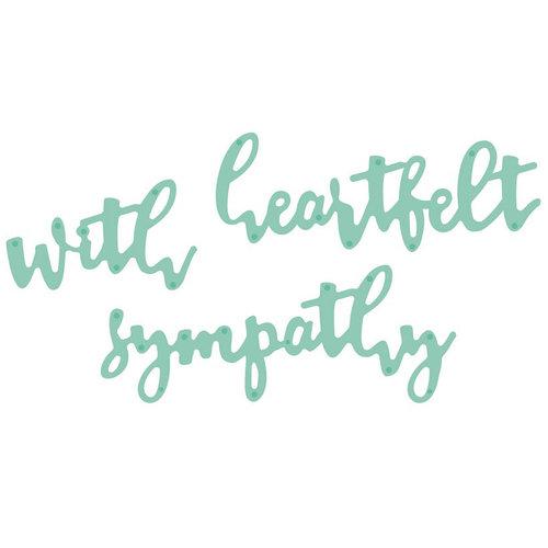 Kaisercraft - Decorative Die - Sentiments Sympathy