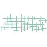 Kaisercraft - Decorative Dies - Texture Criss Cross