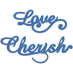 Kaisercraft - Decorative Dies - Love and Cherish