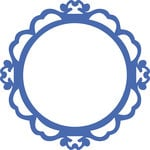 Kaisercraft - Decorative Dies - Ornate Round Frame