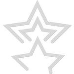 Kaisercraft - Decorative Dies - Triple Star Card