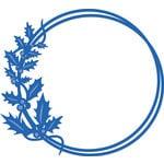 Kaisercraft - Christmas - Decorative Dies - Holly Circle