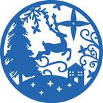 Kaisercraft - Christmas - Decorative Dies - Circle Scene
