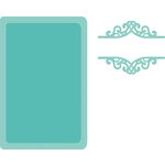 Kaisercraft - Decorative Dies - Book Plate and Label