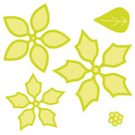Kaisercraft - Decorative Dies - Layered Poinsettia