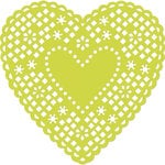 Kaisercraft - Decorative Dies - Heart Doily