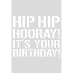 Kaisercraft - Decorative Dies - Quote Birthday - C6