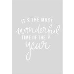 Kaisercraft - Christmas - Decorative Dies - Quote - Wonderful Time - C6