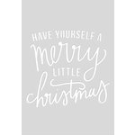Kaisercraft - Christmas - Decorative Dies - Quote - Merry Little Christmas - C6