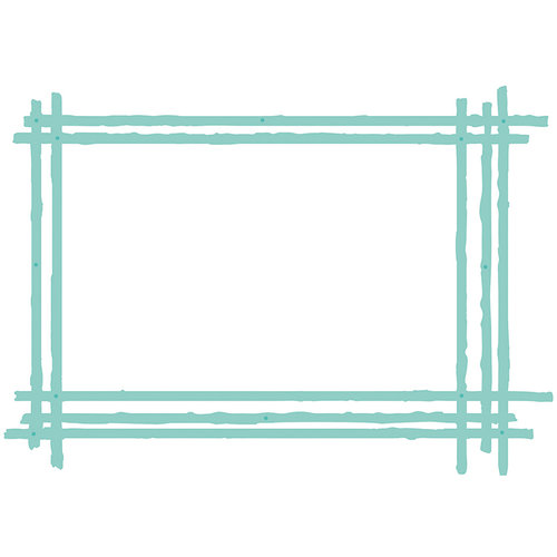 Kaisercraft - Decorative Die - Sketched Rectangle Frame