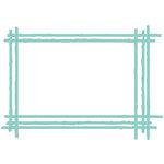 Kaisercraft - Decorative Die - Sketched Rectangle Frame