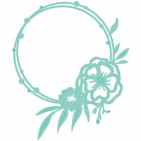 Kaisercraft - Decorative Dies - Floral Circle Frame