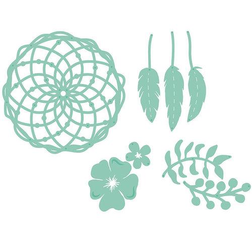 Kaisercraft - Decorative Dies - Floral Dream Catcher