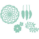 Kaisercraft - Decorative Dies - Floral Dream Catcher