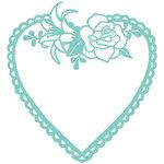 Kaisercraft - Decorative Dies - Flora Heart Frame
