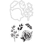 Kaisercraft - Decorative Dies and Clear Acrylic Stamps - Rose