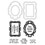 Kaisercraft - Decorative Dies and Clear Acrylic Stamps - Decor Frames and Quotes