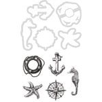 Kaisercraft - Decorative Dies and Clear Acrylic Stamps - Nautical