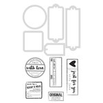 Kaisercraft - Decorative Dies and Clear Acrylic Stamps - Handmade Labels