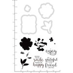 Kaisercraft - Decorative Dies and Clear Acrylic Stamps - Watercolour Friends