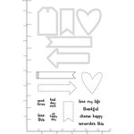 Kaisercraft - Decorative Dies and Clear Acrylic Stamps - Cute Tags