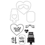 Kaisercraft - Decorative Dies and Clear Acrylic Stamps - Wedding