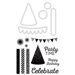 Kaisercraft - Decorative Dies and Clear Acrylic Stamps - Party Time