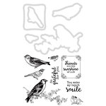Kaisercraft - Decorative Dies and Clear Acrylic Stamps - Feathered Friends