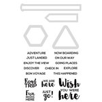 Kaisercraft - Decorative Dies and Clear Acrylic Stamps - Road Trip