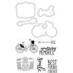 Kaisercraft - Decorative Dies and Clear Acrylic Stamps - Smile