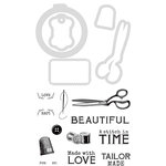 Kaisercraft - Decorative Dies and Clear Acrylic Stamps - Tailor Made