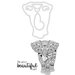 Kaisercraft - Decorative Dies and Clear Acrylic Stamps - Elephant