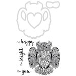 Kaisercraft - Decorative Dies and Clear Acrylic Stamps - Owl