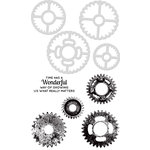 Kaisercraft - Decorative Dies and Clear Acrylic Stamps - Cogs