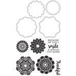 Kaisercraft - Decorative Dies and Clear Acrylic Stamps - Doilies