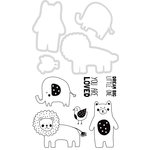 Kaisercraft - Decorative Dies and Clear Acrylic Stamps - Baby Animals