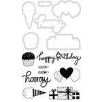 Kaisercraft - Decorative Dies and Clear Acrylic Stamps - Birthday