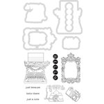 Kaisercraft - Decorative Dies and Clear Acrylic Stamps - Hello