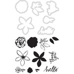 Kaisercraft - Decorative Dies and Clear Acrylic Stamps - Thank You