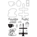 Kaisercraft - Decorative Dies and Clear Acrylic Stamps - Sweeter Friendship