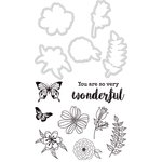 Kaisercraft - Decorative Dies and Clear Acrylic Stamps - Floral Wonder