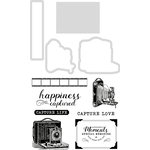 Kaisercraft - Keepsake Collection - Decorative Dies and Clear Acrylic Stamps