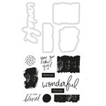 Kaisercraft - Daydreamer Collection - Decorative Dies and Clear Acrylic Stamps