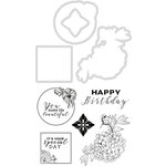 Kaisercraft - Lilac Whisper Collection - Decorative Dies and Clear Acrylic Stamps