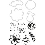 Kaisercraft - Golden Grove Collection - Decorative Dies and Clear Acrylic Stamps
