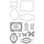Kaisercraft - Decorative Die and Clear Acrylic Stamps - Romance