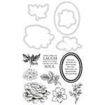 Kaisercraft - Decorative Die and Clear Acrylic Stamps - Floral