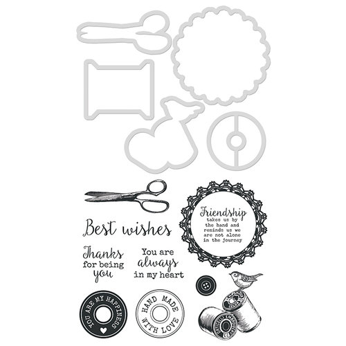 Kaisercraft - Decorative Dies and Clear Acrylic Stamps - Handmade