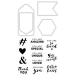 Kaisercraft - Decorative Dies and Clear Acrylic Stamps - Be You