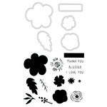 Kaisercraft - Decorative Dies and Clear Acrylic Stamps - Blessed